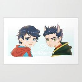 jon&damian Art Print