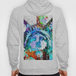 Statue of Liberty Grunge Hoody