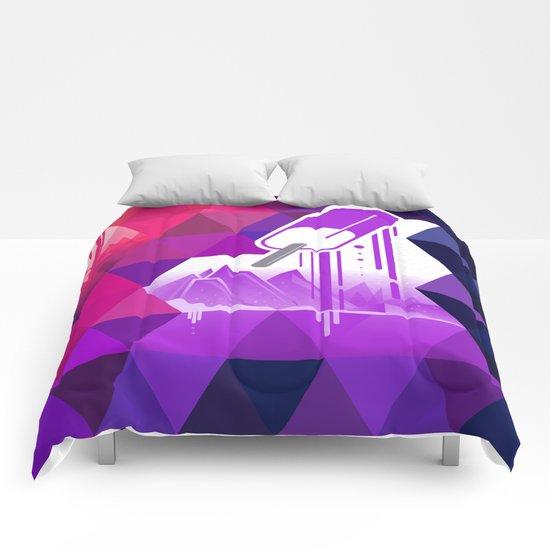 Grape Popsicle Comforters