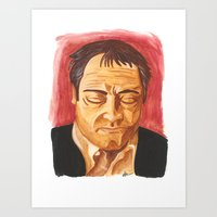 crowley Art Prints featuring Crowley by Heather Davies-Devoe