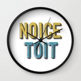 Noice Toit Wall Clock