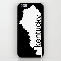 kentucky iPhone & iPod Skins featuring Kentucky by Isabel Moreno-Garcia