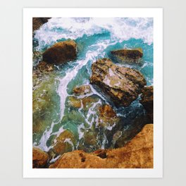 Waves pt. 1 Art Print