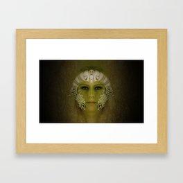 Goddess in Marble Framed Art Print
