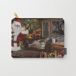 Snappy Santa Carry-All Pouch