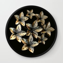 Unnatural Beauty Wall Clock