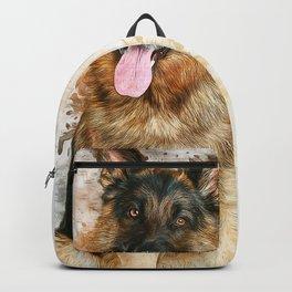 German Shepherd Backpack