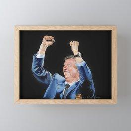 Sir Alex Ferguson Framed Mini Art Print