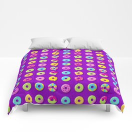 Donut Pattern Comforters