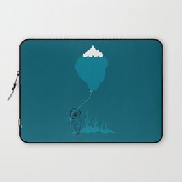 The Diver and his Balloon Laptop Sleeve