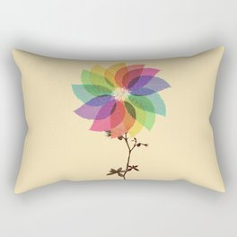 The windmill in my mind Rectangular Pillow