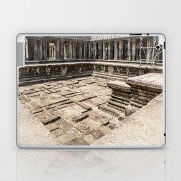 Angkor Wat Pool, Cambodia Laptop & iPad Skin