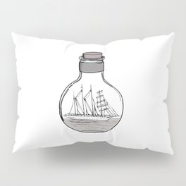 The Ship in the Bulb Pillow Sham