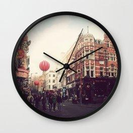 Chinatown , London. Wall Clock