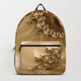 Sound of Seashell Sepia  Backpack