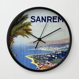 San Remo Wall Clock