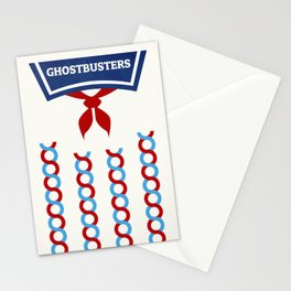 Minimaliste Ghostbusters Stationery Cards