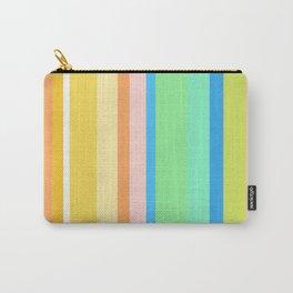 Springtime Stripes Carry-All Pouch
