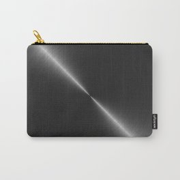 Metallic Bright Polished Steel Carry-All Pouch