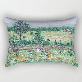 Gettysburg Farm Rectangular Pillow