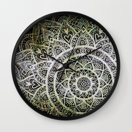 Space mandala 29 Wall Clock