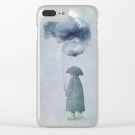 The Cloud Seller Clear iPhone Case