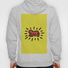 Inspired to Keith Haring Hoody