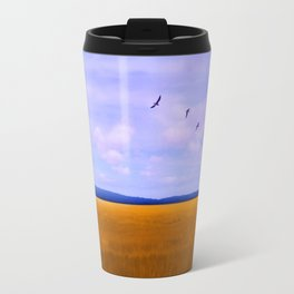 Golden Field Travel Mug