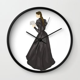 Leave a note for your next of kin, tell'em where you been. Wall Clock