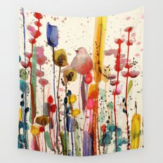 ce doux matin Wall Tapestry