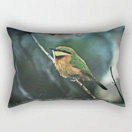 African Little Bee-Eater Bird Rectangular Pillow