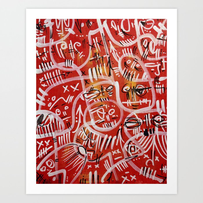 Cousin Larry Art Print