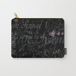 On the blackboard Carry-All Pouch