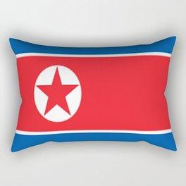 Flag of North Korea Rectangular Pillow