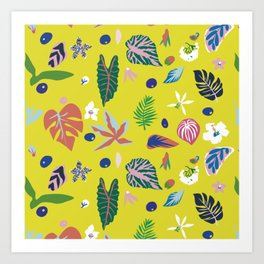 Dosel Tropical Art Print