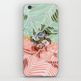Ying Yang Couple in Bed iPhone Skin