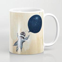 Raccoon Balloon Coffee Mug