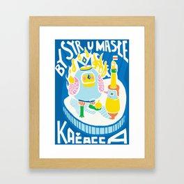 rolling inclover Framed Art Print