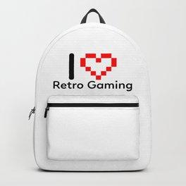 I Love Retro Gaming Backpack