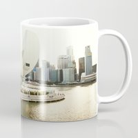 singapore Mugs featuring Singapore by Jeremiah Wilson