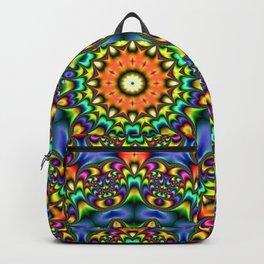 FRACTAL KALEIDOSCOPE JOYFUL DAY 2 Backpack