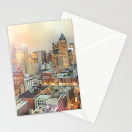All Those Lights, They Shine For You - New York City Stationery Cards