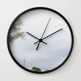 Birds on Bechtel Wall Clock