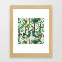 Dream jungle Framed Art Print