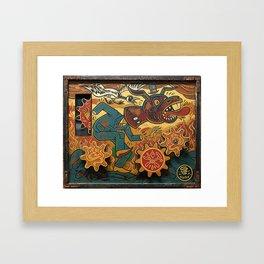 Paul Chatem_The Palm of a Cad Framed Art Print
