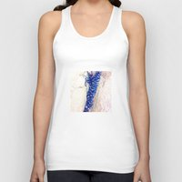 shells Tank Tops featuring Blue Shells by Ken Seligson