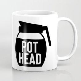 Coffee Pot Head Coffee Mug