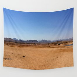 The mountain view Wall Tapestry