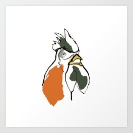 This is the cock that crowed in the morn.... Art Print