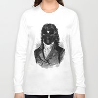 bdsm Long Sleeve T-shirts featuring BDSM XVIII by DIVIDUS